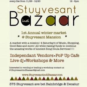 Stuyvesant Independent Arts Bazaar @ 375 Styvesant Avenue, between Bainbridge & Decatur | Decatur | Georgia | United States