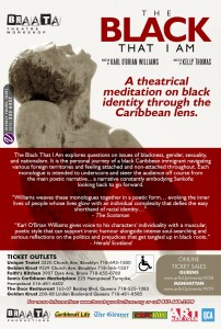 The Black That I Am @  Roy Arias Stage II Theatrecorner | New York | New York | United States